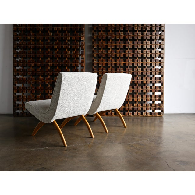 Milo Baughman Scoop Chairs for Thayer Coggin Circa 1955 - a Pair For Sale - Image 10 of 13