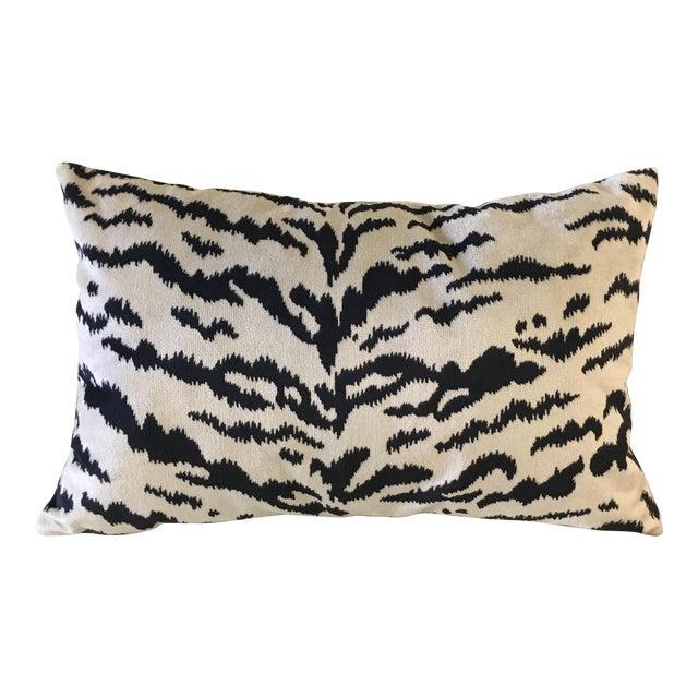 Williams-Sonoma Velvet Lumbar Pillow For Sale