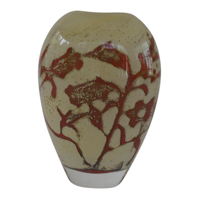 Kosta Boda Olle Brozén Floating Flowers Vase For Sale