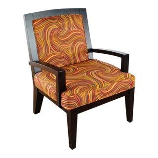 Scandinavian Designs Upholstered Armchair For Sale