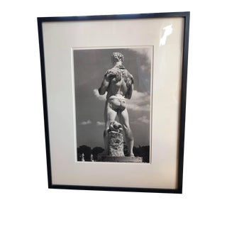 """1990s Original George Mott Numbered Photograph Used for the Book """"Foro Italico"""", Framed For Sale"""