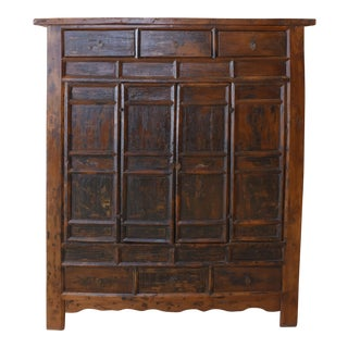 Rare Temple Cabinet Approximately 200 Years Old For Sale