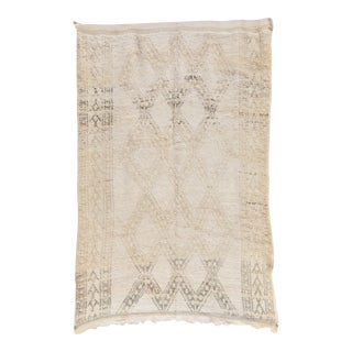 1970s Beni Ourain Vintage Moroccan Rug For Sale