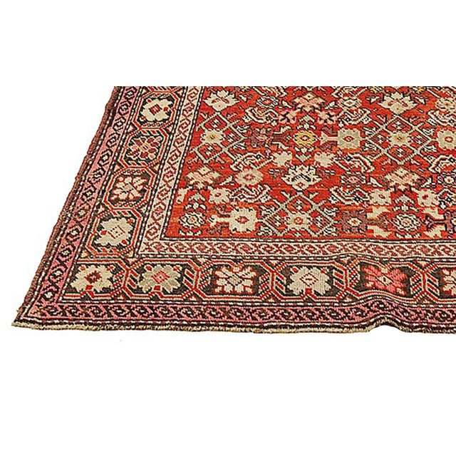 """Traditional Antique Persian Karajeh Rug-4'2'x6'4"""" For Sale - Image 3 of 5"""