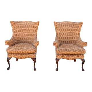 Vintage Highback Chairs - A Pair