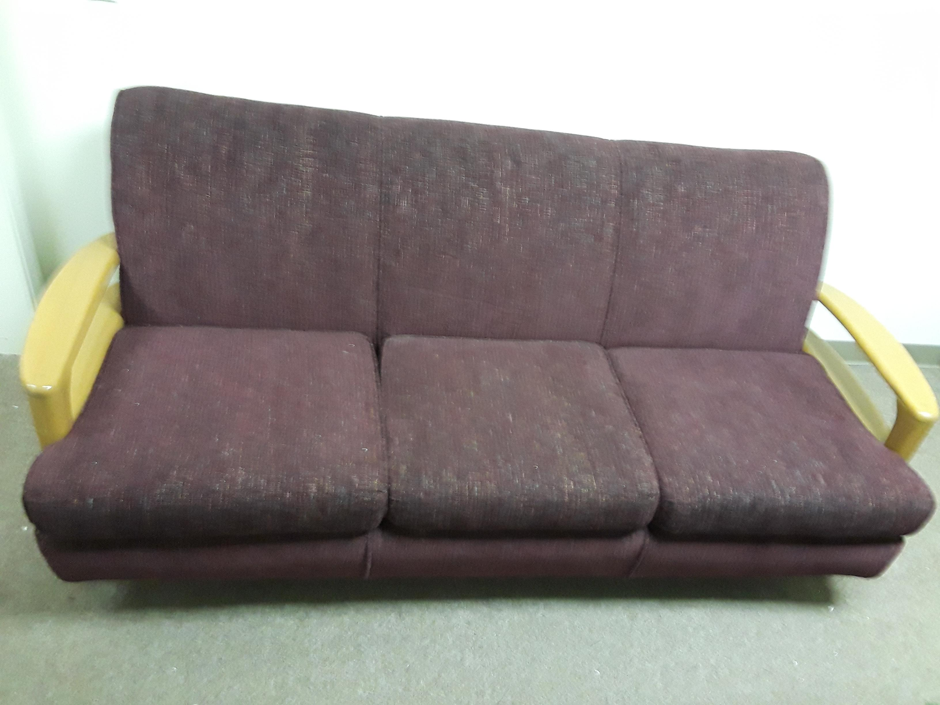 1950s Vintage Heywood Wakefield Sofa Chairish