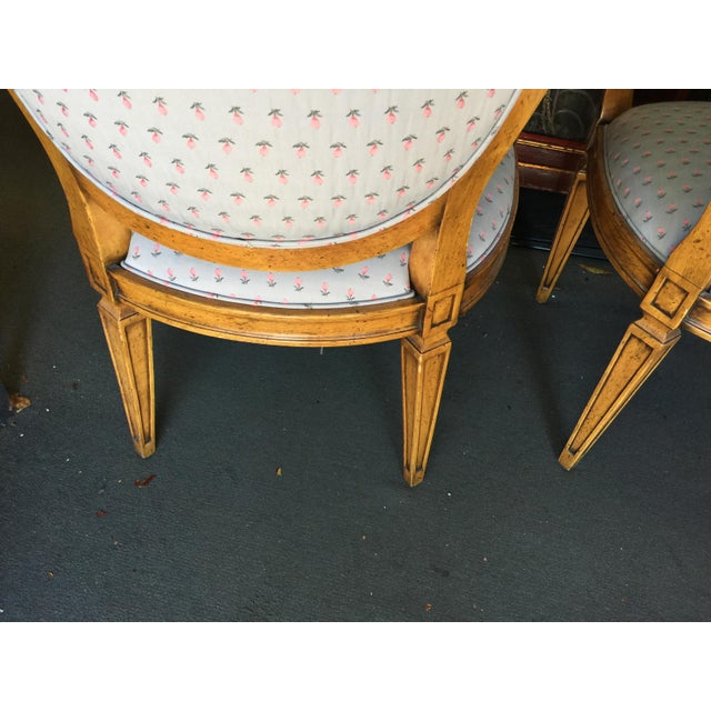 Silk William Switzer Bergeres a Pair For Sale - Image 7 of 10