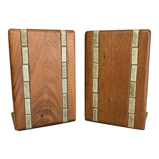 Mid-Century Martz Bookends For Sale