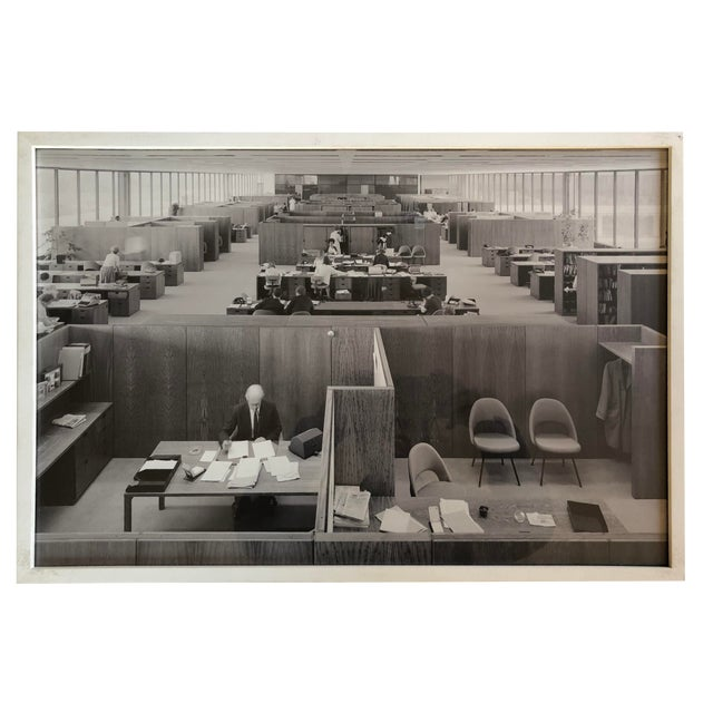 Vintage Office Wall Art Framed Architectural Photography For Sale