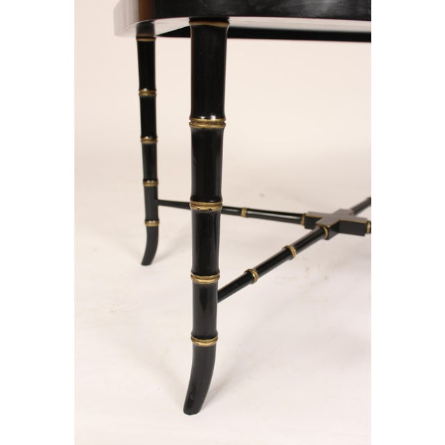 English Regency Style Paper Mache Tray Table For Sale - Image 10 of 11