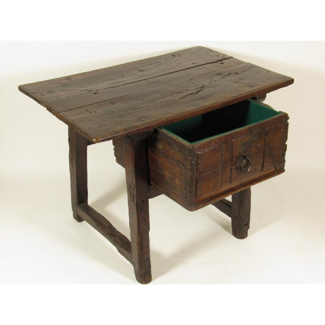 17th C. Spanish Side Table - Image 5 of 7