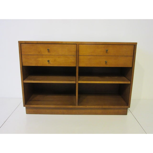 Paul McCobb Planner Group Maple 2 Pc. Bookcase For Sale In Cincinnati - Image 6 of 9