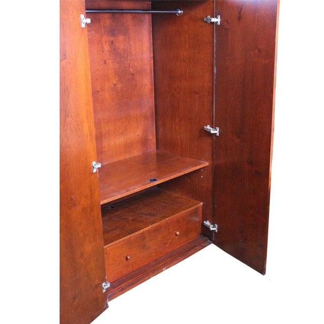 Art Deco Wardrobe Cabinet - Image 9 of 10