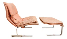 Image of Italian Chair and Ottoman Sets