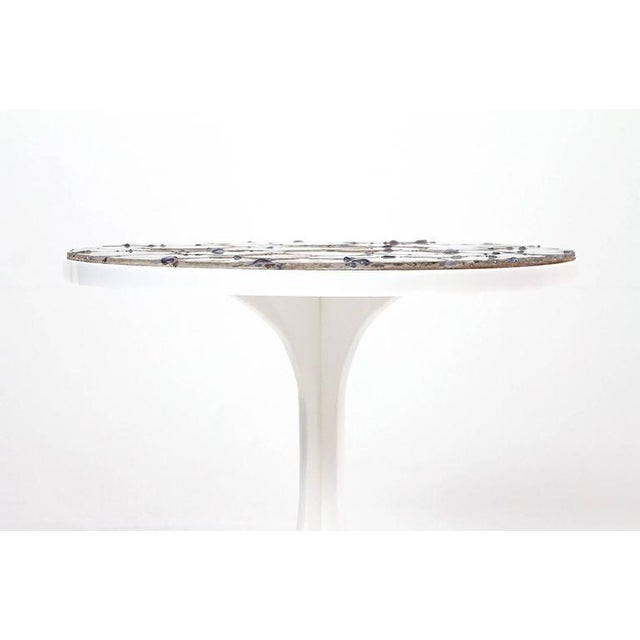 1960s Miriam Rogers Mosaic and Acrylic Table For Sale - Image 5 of 11