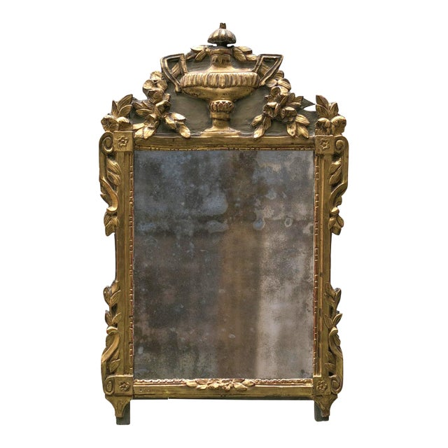 18th Century Provincial Louis XVI Mirror For Sale - Image 12 of 12