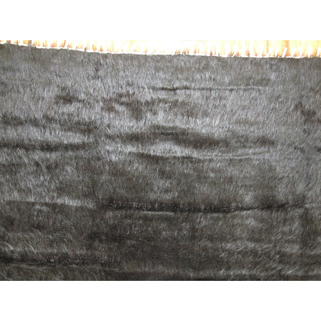 Vintage Mohair Rug - 4'7'' x 6'9'' - Image 8 of 9