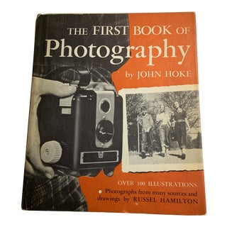 1950s the First Book of Photography Book by John Hoke For Sale