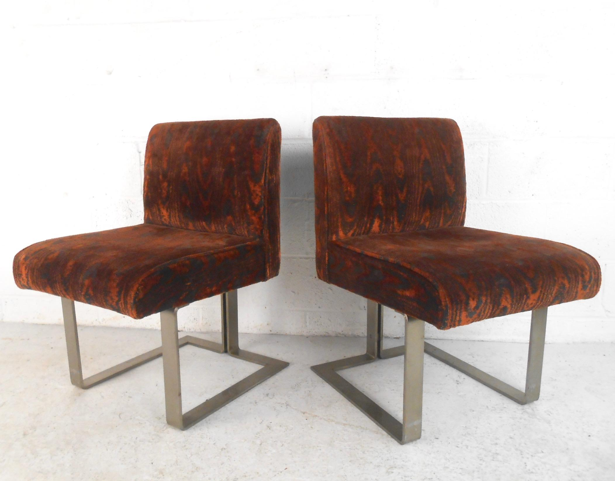 Kagan Style Mid Century Dining Chairs   Set Of 10 For Sale   Image 5