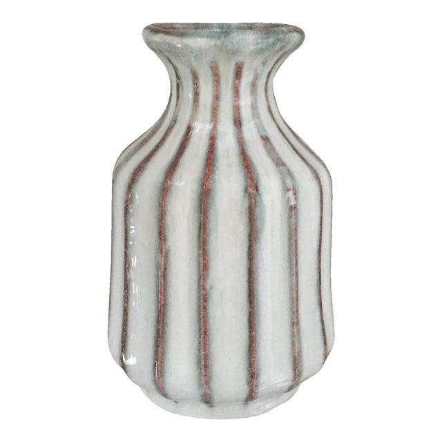 Mid-Century Modern Glazed Pottery Vase - Image 1 of 11