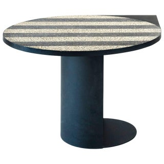 Stripy Mosaic Brass Table, Rooms For Sale