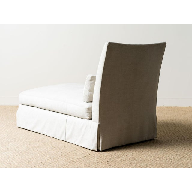 2020s New Upholstered Ridge Chaise For Sale - Image 5 of 8