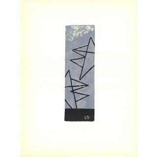 Georges Braque-Ciel Gris-1959 Lithograph For Sale