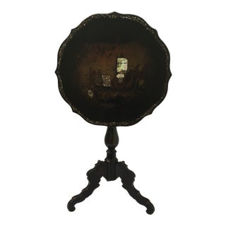 1870s Victorian Tilt Top Table For Sale