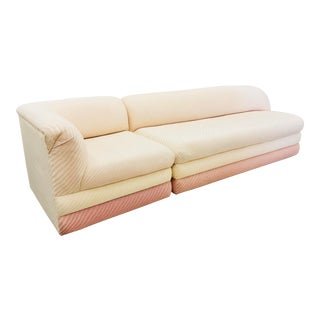 Vintage Art Deco Modern Sofa For Sale