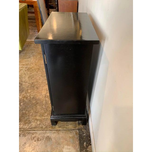 Vintage Black Hallway Cabinet For Sale - Image 4 of 7