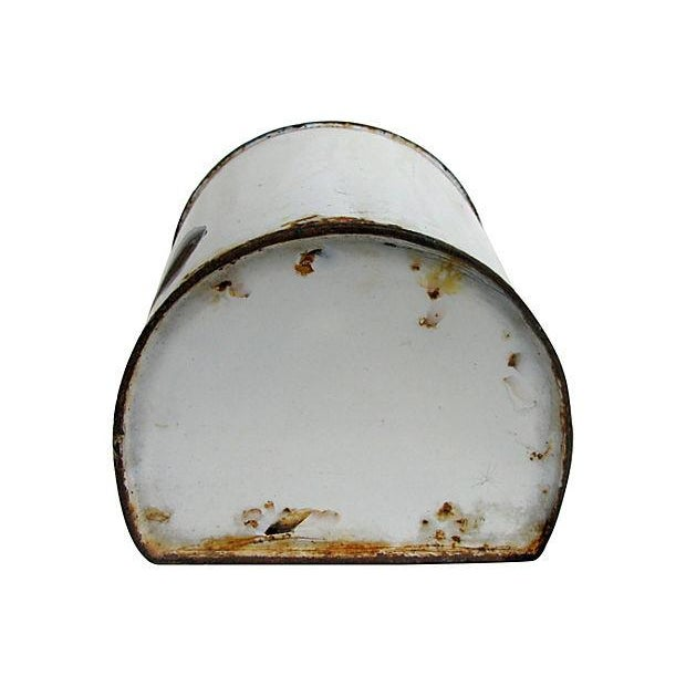 Antique French Enamel Kitchen Tool Holder - Image 6 of 6