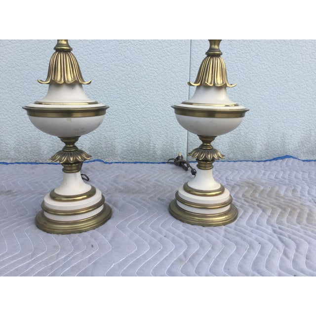 Stiffel 1960's Stiffel Hollywood Regency Table Lamps For Sale - Image 4 of 8