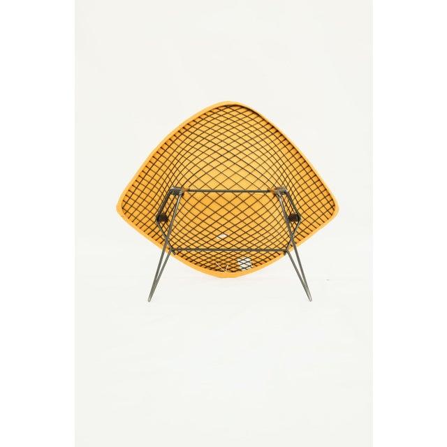 1970s Danish Modern for Knoll International Bertoia Large Diamond Chair For Sale - Image 9 of 11