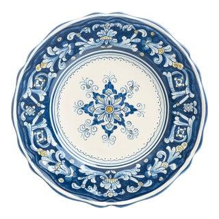 Salad Plate, Full Design, Antico Deruta For Sale