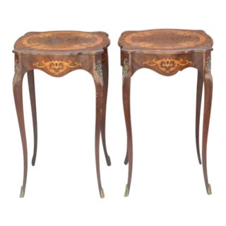 20th Century French Provincial Accent Tables - a Pair For Sale