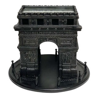 19th Century French Grand Tour Iron Model of the Arc De Triomphe For Sale