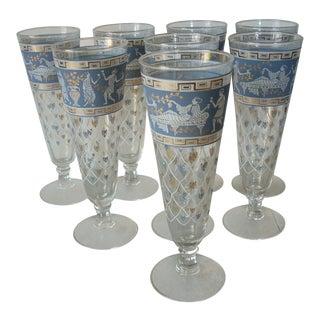 1950s Jeanette Beer Glasses - Set of 8 For Sale