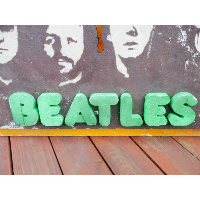 Beatles Authentic Capitol Record Promo Display 1970s Wall Decor Record Vinyl Collectors Beatles Fans - Image 5 of 8