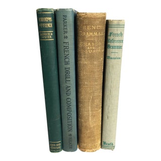 Vintage French Lessons Book Collection - Set of 4 For Sale