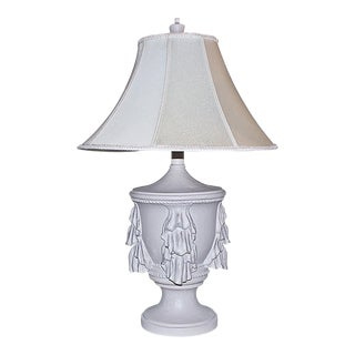 Painted Table Lamp For Sale