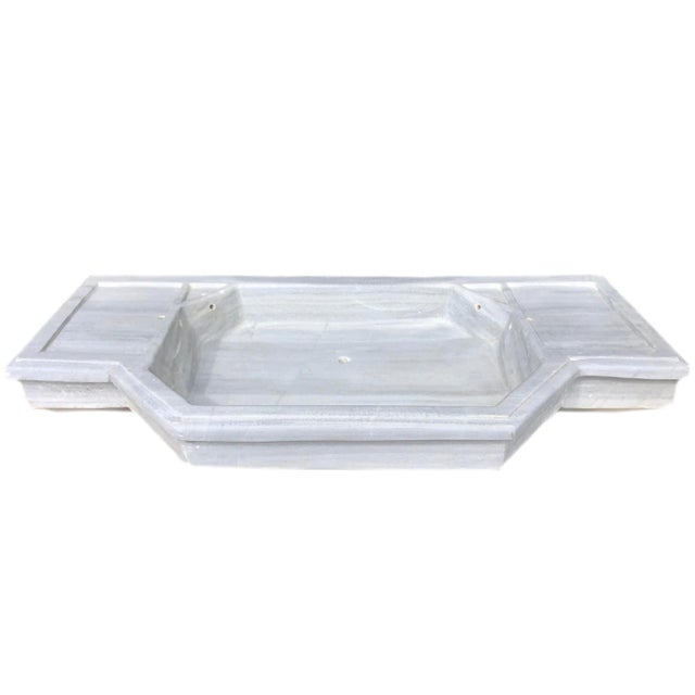 Antique Hand-carved Turkish Marble Sink Talk about taking a bathroom from ordinary to breathtaking! Crafted from...