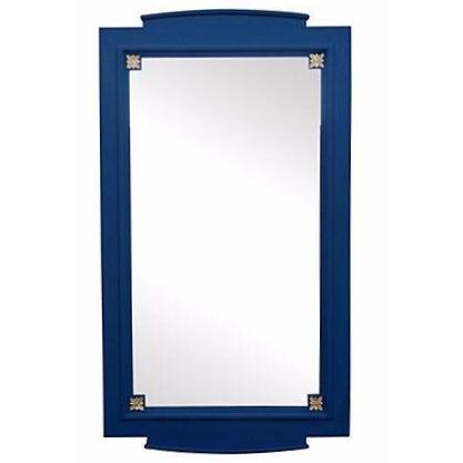 Cobalt Blue Mirror For Sale
