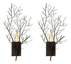 Image of Dark Gray Sconces and Wall Lamps