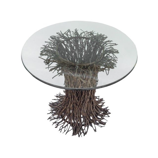 1980s Willow Twig Table Base For Sale - Image 5 of 9