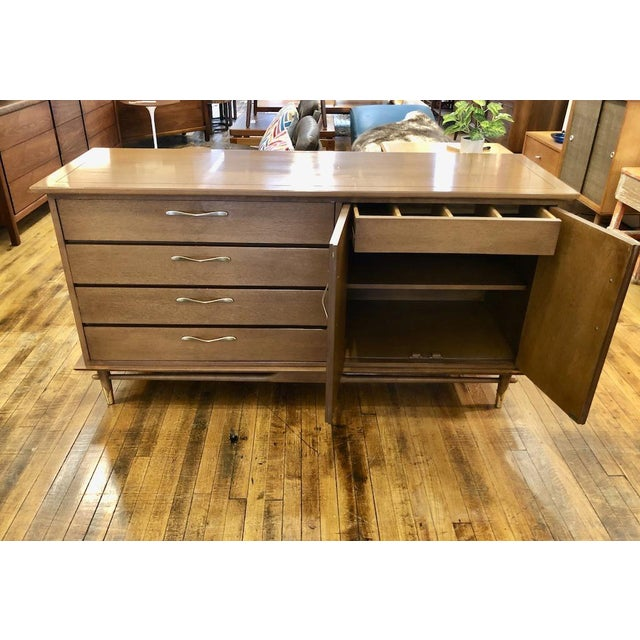 Mid-Century Modern Mid Century Modern Lane Credenza 1950s For Sale - Image 3 of 13