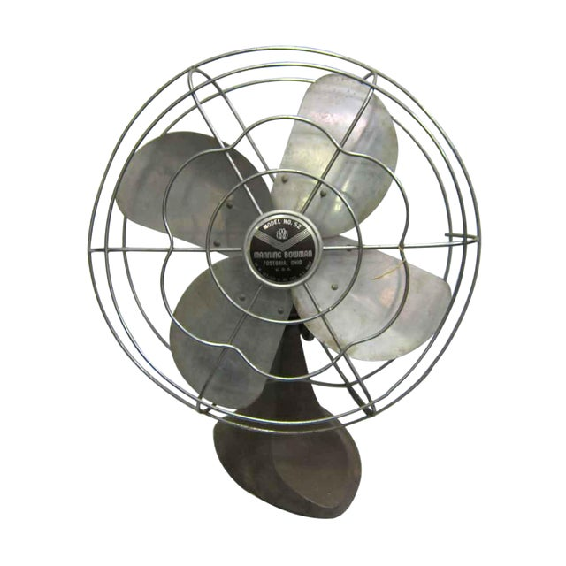 Antique Manning Bowman Fan - Image 1 of 4