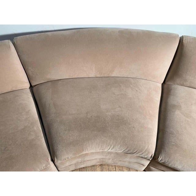 Vladimir Kagan Vintage Sectional Cloud Sofa attributed to Vladimir Kagan For Sale - Image 4 of 13