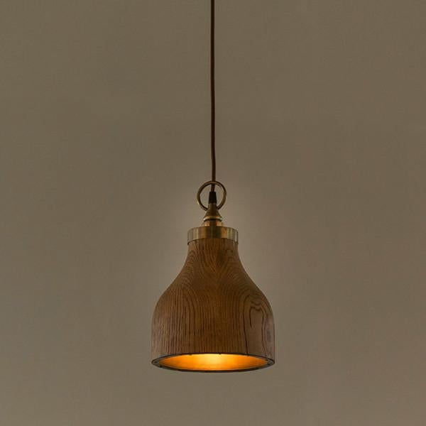 These pendants are inspired by Northern Californian coastal hardwoods. Each lining is hammered in place by hand, using...
