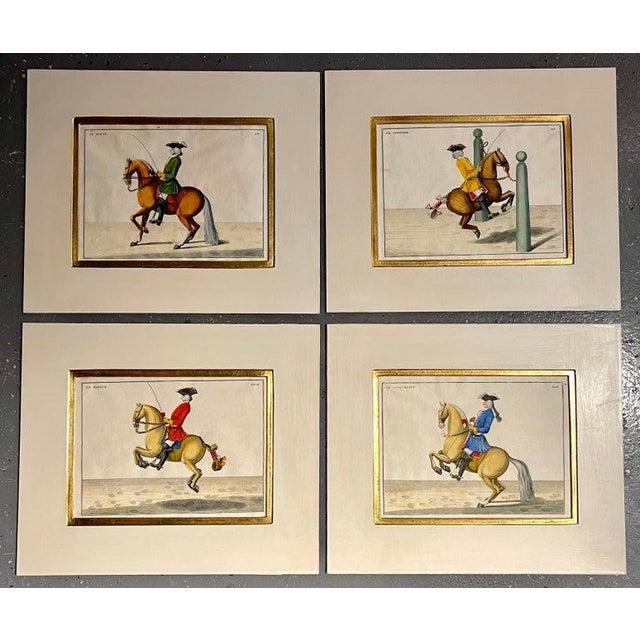 Four Engravings of Horse Riders Le Sensible, Le Royal, Le Conquerant, Le Ballon For Sale - Image 10 of 11