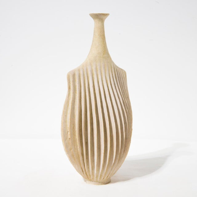 Contemporary Ceramic Vase by Ursula Morley-Price, 2000 For Sale - Image 3 of 7